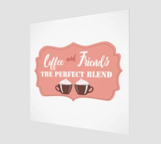 Coffee Friends Art Print preview