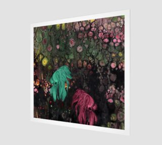 Betas Rising Acrylic Print square preview