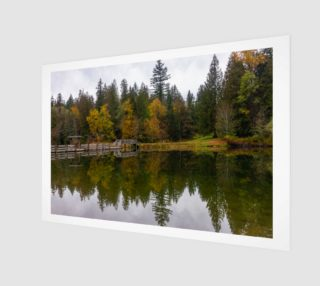 Autumn reflecting on Silver Lake preview