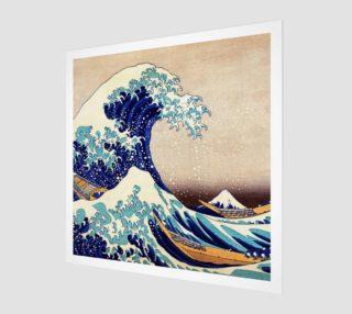 Katsushika Hokusai The Great Wave Off Kanagawa Art Print preview
