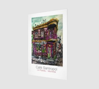 Cafe Santropol - Purple Corner House preview