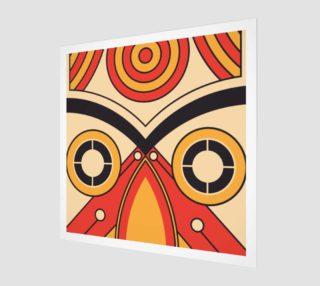 Aperçu de aztec tribal bull