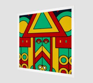 Aperçu de colorful aztec tribal