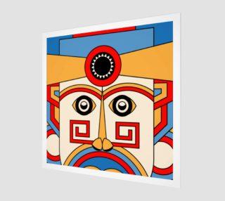 Aperçu de geometric tribe mask