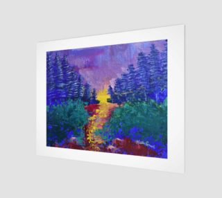 Trail Sanctuary - Abstract Impressionism preview
