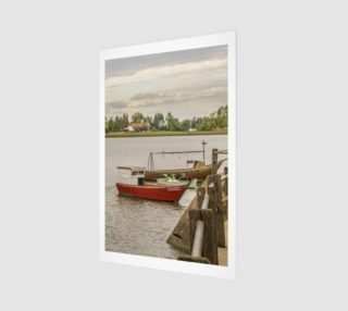 Fishing Boats at Santa Lucia River in Montevideo, Uruguay preview