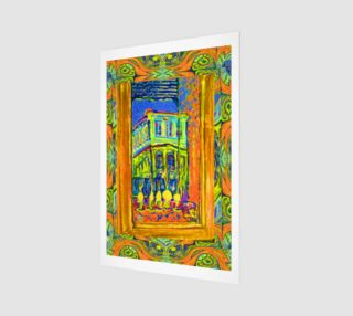Channeling Vincent / Virtual Vincent™ Window Wall Print preview