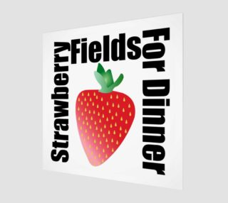 Aperçu de Strawberry Fruit Wall Art 190120G