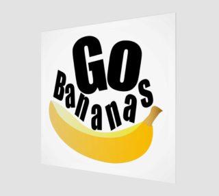 Aperçu de Banana Fruit Wall Art 190120B