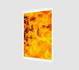 Five Elements Set - Fire Wall Art Poster 4 preview
