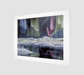Aurora Borealis Art Print preview
