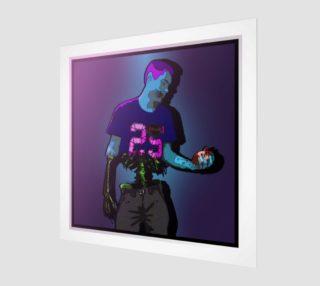 Zombie Boy - Art print by DRWD aperçu