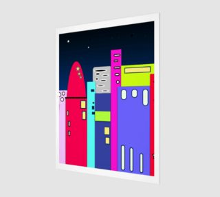 """Space City Wall Art 7.5"""" x 10"""" preview"""