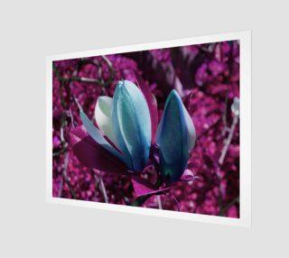 Aperçu de magestic Pink Forest Print