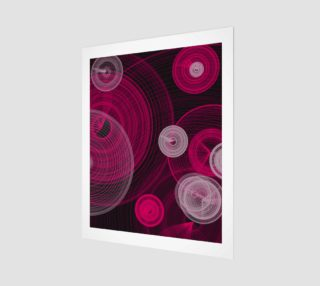 "Circles Wall Art 16"" x 20"" preview"