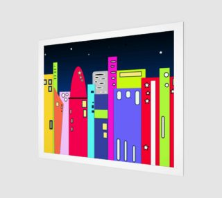 """Space City Wall Art 24"""" x 20"""" preview"""