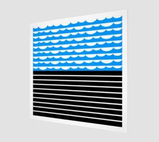 valovi art print preview