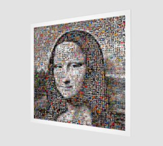 Modern Monalisa Painting preview