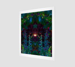 Aperçu de It's Watching You modern art print by Tabz Jones