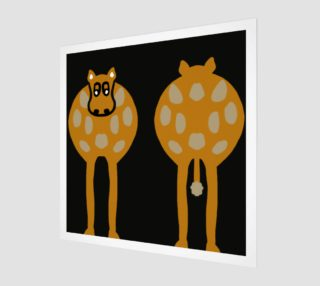 Silly Cow Wall Art preview