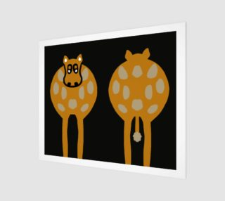 """Silly Cow Wall Art 24"""" X 20"""" preview"""