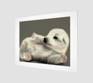 """Adorable Puppy Wall Art 14"""" x 11"""" preview"""