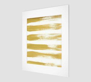 Aperçu de Gold Brushstrokes Instant Download