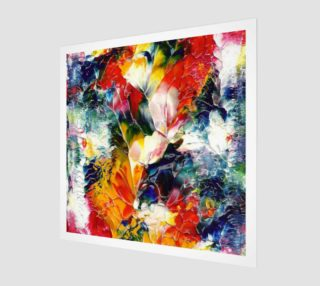 Floral Abstract Art Print preview