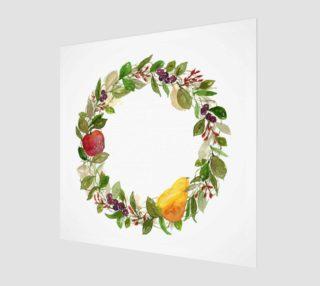 Aperçu de Fall Fruit Wreath