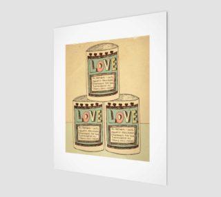 Aperçu de Canned Love 8x10