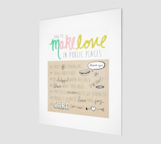 Make Love in Public 8x10 preview