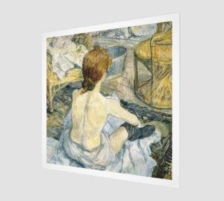 Aperçu de Yvette by Henri de Toulouse-Lautrec