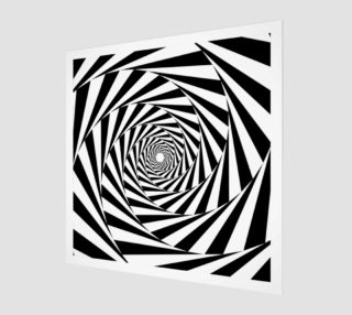 Hypnotic Wood Print preview