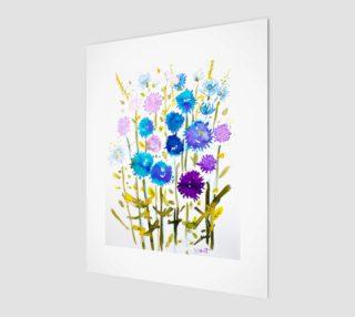 wall-art_So Fleur Bleue preview