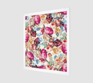 Floral Crush Poster 20x24 aperçu