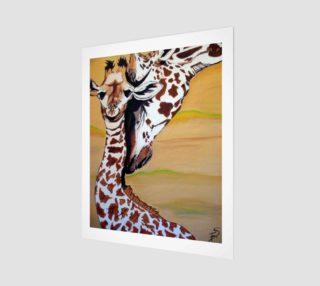 Aperçu de Mommy and Baby Giraffe 2