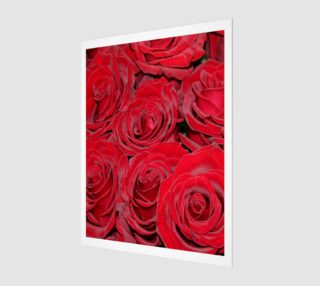 Romantic Red Roses Floral Design preview