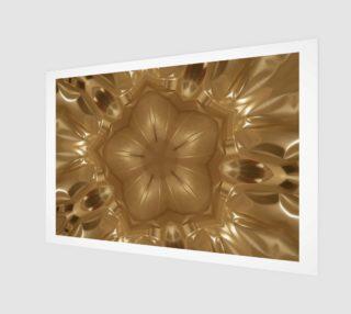 Aperçu de Elegant Gold Brown Shimmering Star