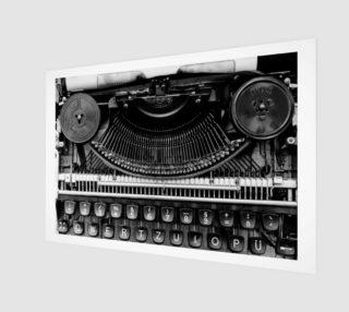 Typewriter preview