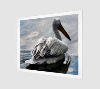 Lonley Pelican(24x20) preview