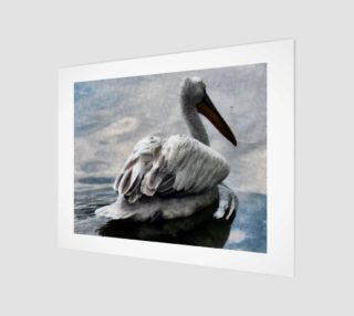 Lonley Pelican(14x11) preview