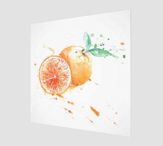 Fresh orange preview
