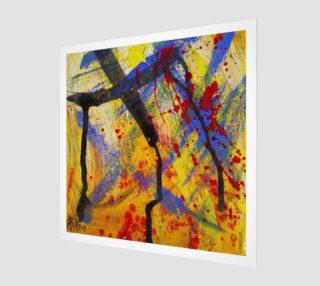Grunge Paint Splatter Graffiti Abstract preview