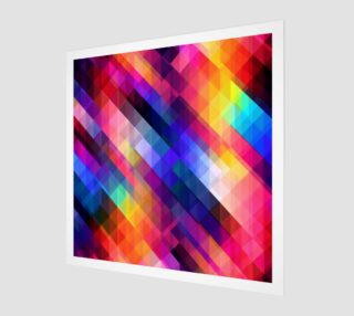 Multi Color Geometric Abstract  preview