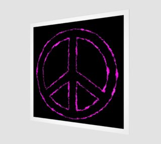 Pink and Black Peace aperçu
