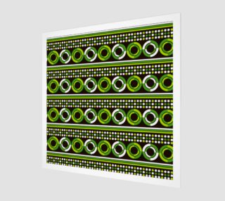 Aperçu de green geometry circle art