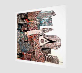 Aperçu de la toure MTL reproduction canvas 32 x24