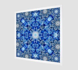 Aqua Crystal Mandala aperçu