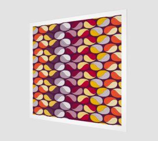 Aperçu de geometric modern textile pattern