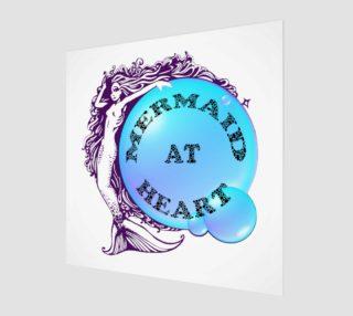 Mermaid at Heart Wall Art preview